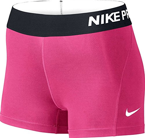 Nike Women's Pro Cool 3-Inch Training Shorts (Pink/X-Small)