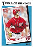 2018 Topps Throwback Thursday 1989 TURN BACK THE CLOCK DESIGN #25 BRYCE HARPER NM-MT Nationals