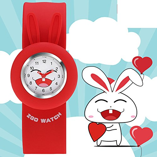 Girls waterproof cute girl pupils watch/POPs toy Pat quartz jelly watch-C (Sport Chrono Toy Watch Watch)