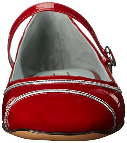 cheap best Marc Jacobs Women's Poppy Mary Jane Ballerina Ballet Flat Red clearance low shipping NqFGkWhdd1