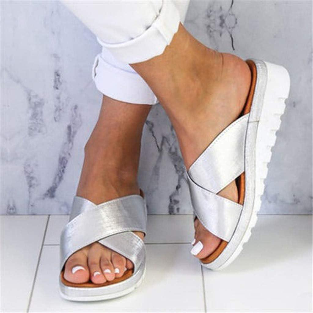 IMJONO Été Sandale Orthopedique Femme Nouvelles Sandales