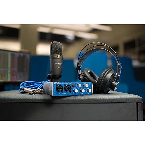 PreSonus AudioBox 96 Studio USB 2.0 Recording Bundle with Interface, Headphones, Microphone and Studio One software by PreSonus (Image #4)