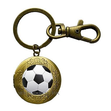 Llavero de fútbol, llavero deportivo, regalo de equipo ...