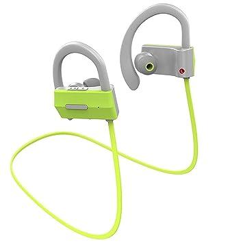 Joyeer Auriculares inalámbricos de deporte Bluetooth Auriculares de música estéreo Control de voz Respuesta de llamadas