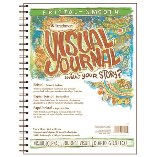 strathmore-visual-journal-spiral-bound-art-pad-9-by-12-inch-bristol-smooth