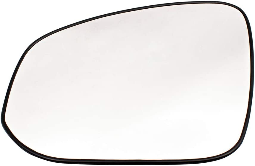 Replacement Driver Mirror Glass with Base Compatible with 2013-2015 RAV4