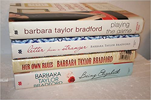 Barbara Taylor Bradford 4 Book First Edition Collection Playing