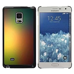 YiPhone /// Prima de resorte delgada de la cubierta del caso de Shell Armor - Rainbow Espacio Galaxy - Samsung Galaxy Mega 5.8