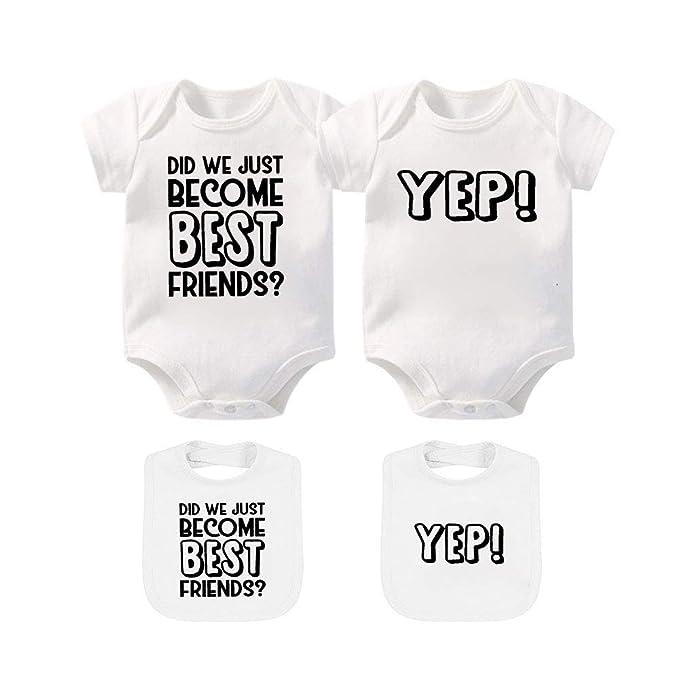 Puppy Babygrow And Bib Set Funny Newborn Gift Baby BodySuit
