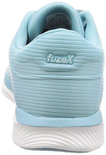 Asics FuzeX Rush Adapt, Scarpe Running Donna Turchese (Porcelain Bluewhitesmoke Blue 1401)