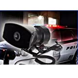 Car Vehicle 80 Watt Police Air Horn PA 5 Tone Siren Super Loud System