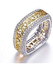 خاتم الازواج ذهب مطلي للنساء