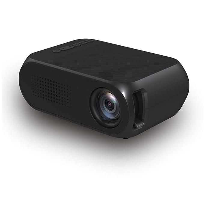 HLKYB Proyector portátil, proyector de vídeo LED, Soporte 1080P ...