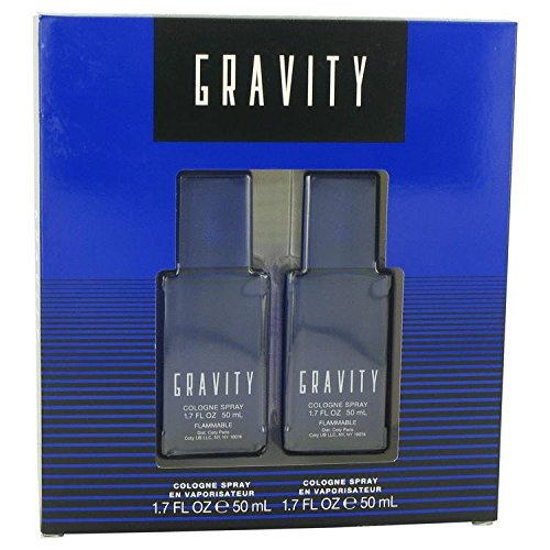 Coty 516210 Gravity - Gift Set - Two 1.7 oz. Cologne Sprays