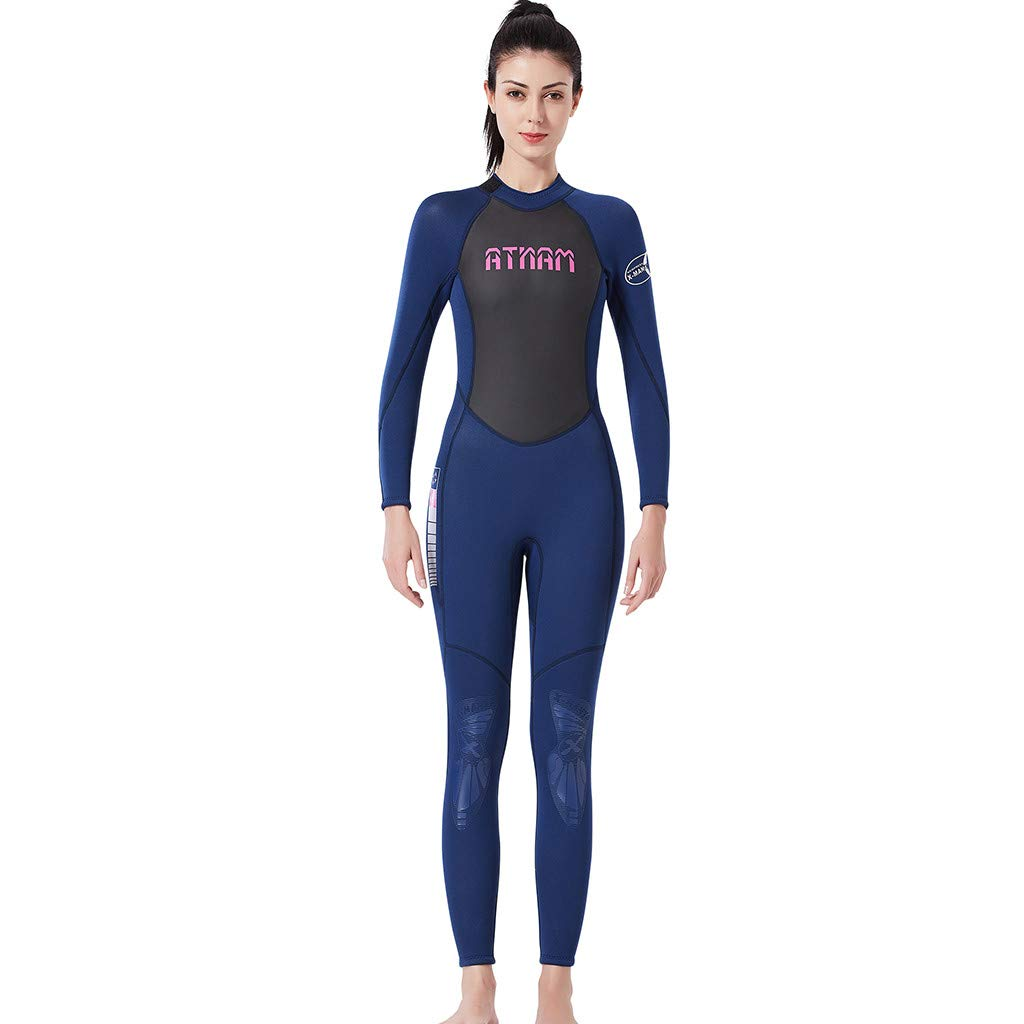Women's Keep Warm Sunscreen Swimming,Surfing and Snorkeling Diving Coverall Suit by LUXISDE (Image #5)