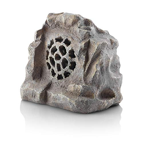 Alpine Corporation Waterproof Bluetooth Rock Speaker -