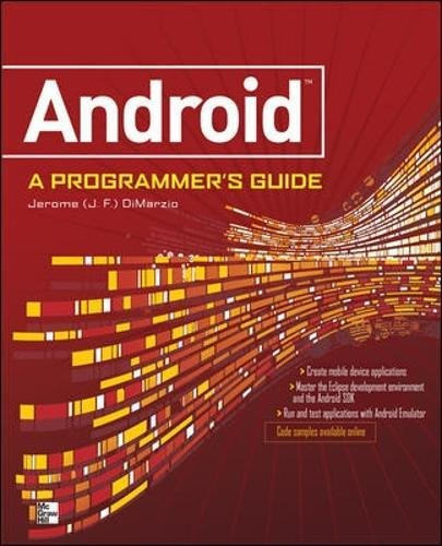 ANDROID A PROGRAMMERS
