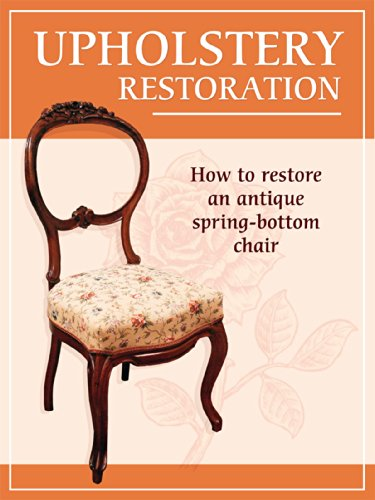 How to restore an antique spring-bottom - Traditional Antique Upholstery