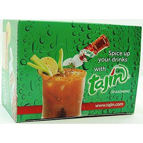 TAJIN FRUIT SEASONING MINI 0.35 oz Each ( 40 in a Pack ) by Tajin