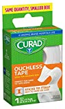 """Curad CUR08801BRB Ouchless Tape, 1"""" Width x 2.3"""