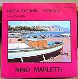 NINO MARLETTI NUOVI STORNELLI TOSCANI 45 rpm single