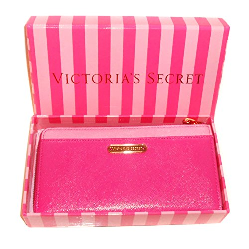victorias-secret-semi-accordian-leather-wallet-magenta