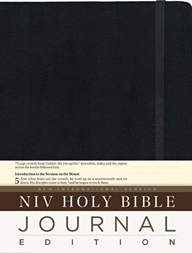 NIV, Holy Bible, Journal Edition, Hardcover