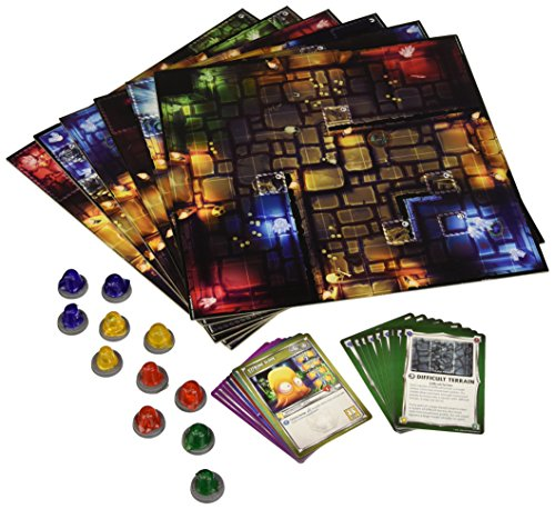 Dungeon Tiles Dungeons of Crystalia Board Game