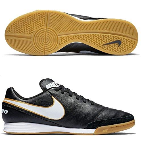 Nike Tiempo Genio Leather II-Zapatillas de fútbol sala negro