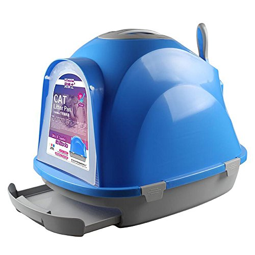 choler closed cat toilet self cleaning double queen size cat litter box send arena kitty litter box