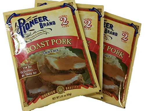 Pioneer Brand Roast Pork Gravy Mix Multi-pack, 3 Packets