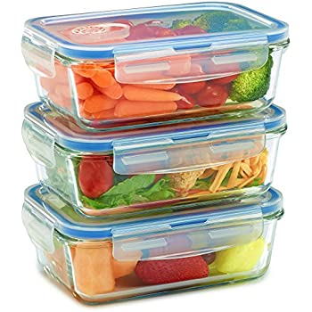 Image result for glass food storage containers