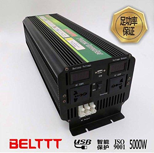 5000Watt 10000W(peak) 12V/ DC to 220V AC 50Hz Battery High power inverter for RV's, Cars, Boats