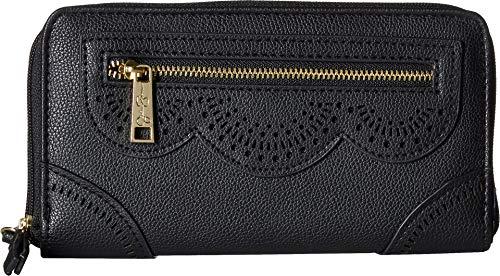 Jessica Simpson Women's Harper Wallet Black One Size