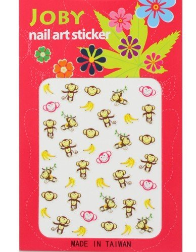 - Nail Sticker / Nail Art - Signature Collection - Monkeys