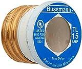 15 amp fuse plug - Bussmann BP/TL-15 15 Amp Time Delay, Loaded Link Edison Base Plug Fuse, 125V UL Listed Carded, 3-Pack