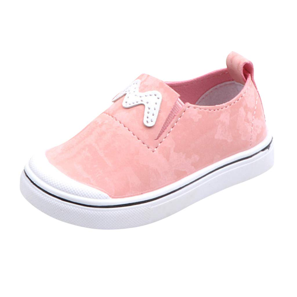 LIKESIDE Mary Jane Walking Shoes for First Walkers Pink
