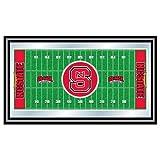 Trademark Gameroom NCAA North Carolina State University Framed Logo Mirror