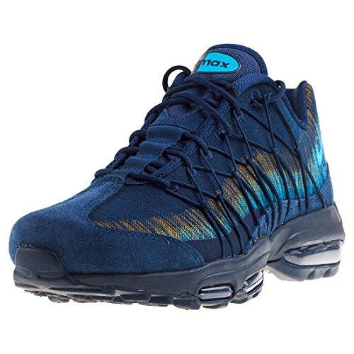 Nike Scarpe Unisex Air Max 95 Ultra Jacquard in Tessuto Blue 749771-402 blu