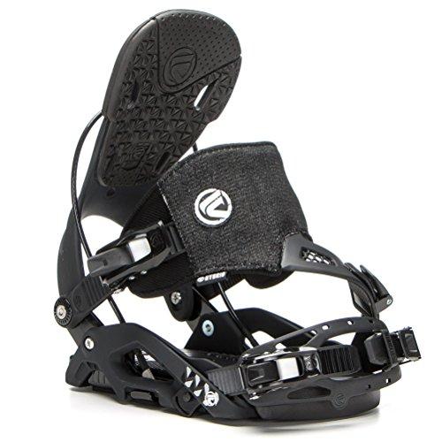 - Flow Juno Hybrid Snowboard Binding - Women's Black Large