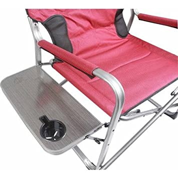 Ozark Trail 500 lb Capacity XXL Director Chair red