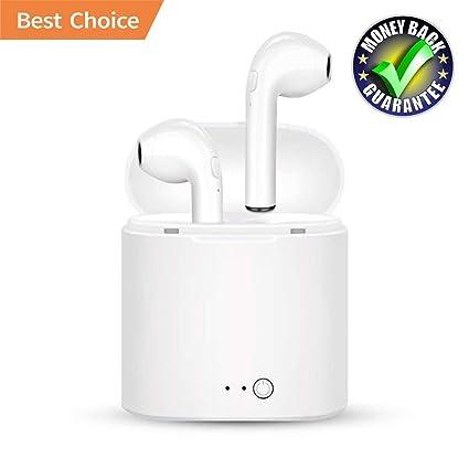 bjqlsm Auriculares inalámbrico I7s, Auriculares Bluetooth Productos TWS – Calidad la batería de Calidad a