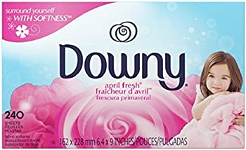 240-Count Downy April Fresh Fabric Softener Dryer Sheets