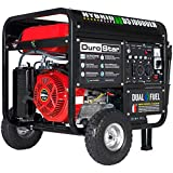 10000 watt portable generator - DuroStar Hybrid Dual Fuel DS10000EH 10,000-Watt Portable Generator (Renewed)