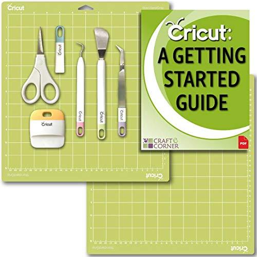 Cricut Tools Basic Set and 2 Pack Cutting Mats 12