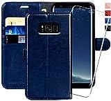 MONASAY Galaxy S8 Wallet Case, 5.8-inch,…