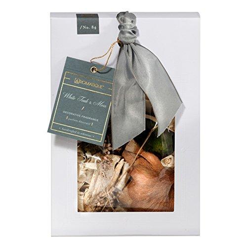 Aromatique Decorative Fragrance Potpourri Pocketbook Style Box (White Teak & Moss, 6.5oz) by Aromatique (Image #1)