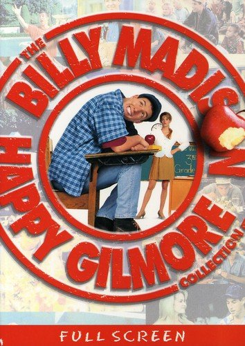 DVD : The Happy Gilmore / Billy Madison Collection (Full Frame, Special Edition, Dolby, AC-3, Digital Theater System)
