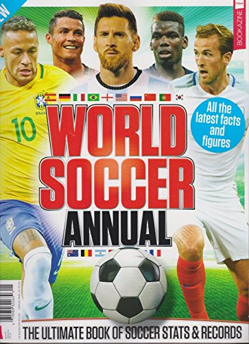 WORLD SOCCER ANNUAL MAGAZINE #4 2018, Ultimate Book of Soccer Stats and - International Flat Rates Usps