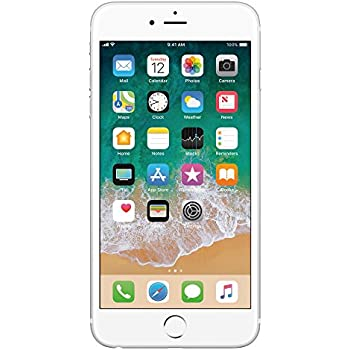Apple iPhone 6 Celular 16 GB Color Plata Desbloqueado (Unlocked) Renewed (Renewed)